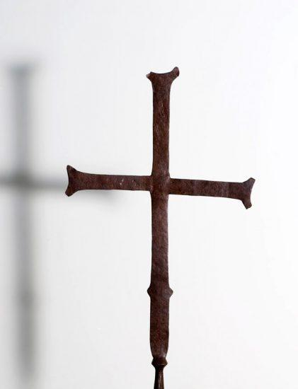 Χάλκινος σταυρός λιτανείας