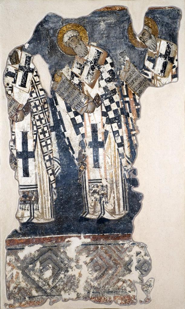 Συλλειτουργούντες Ιεράρχες (διακρίνεται ο Μέγας Βασίλειος)