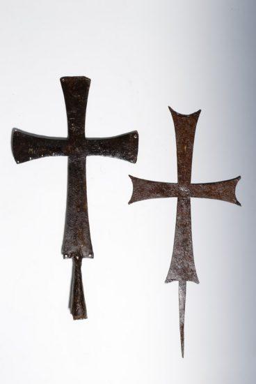 Χάλκινοι σταυροί λιτανείας