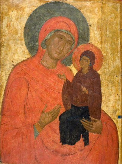 Η Αγία Άννα με την Παναγία