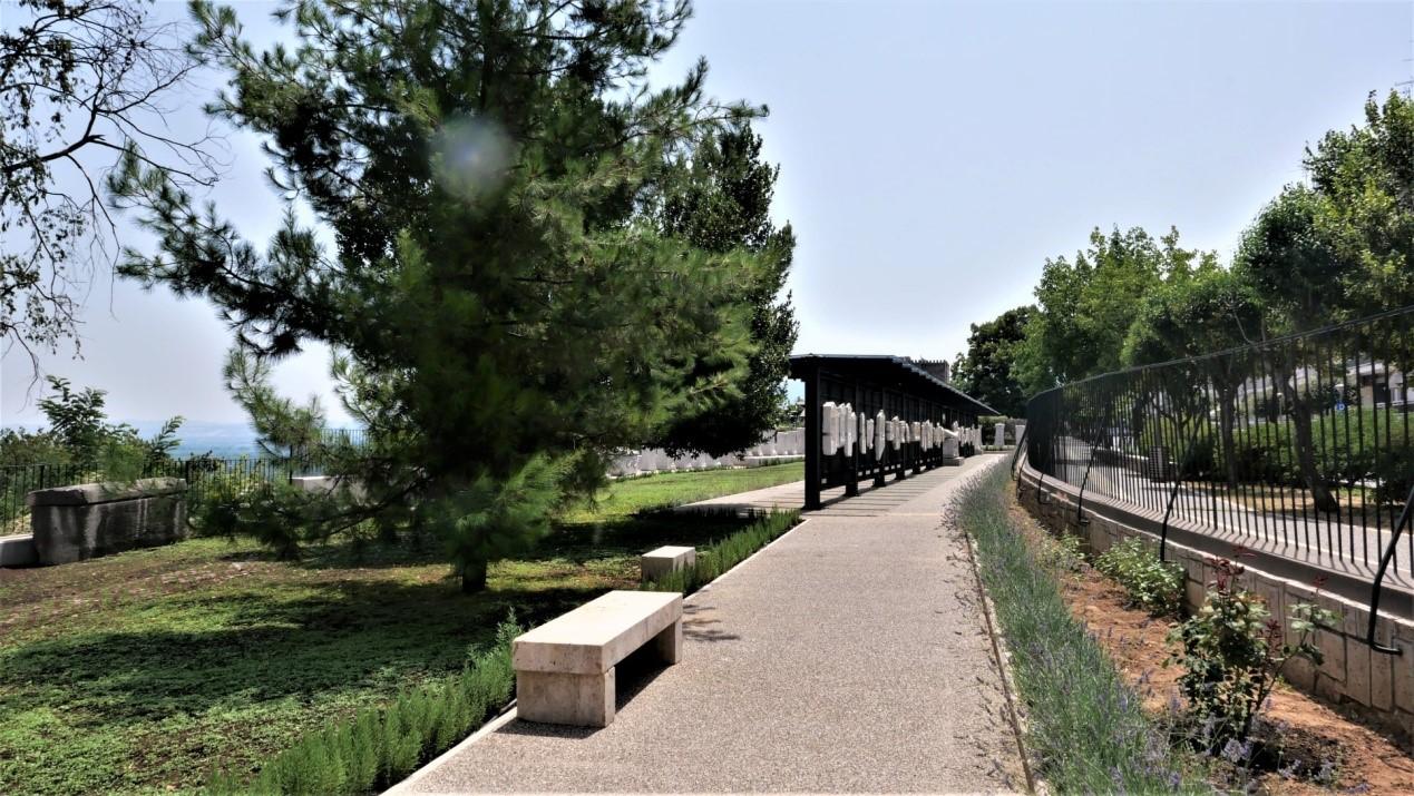 Μπορεί να είναι εικόνα γέφυρα, φύση και δέντρο